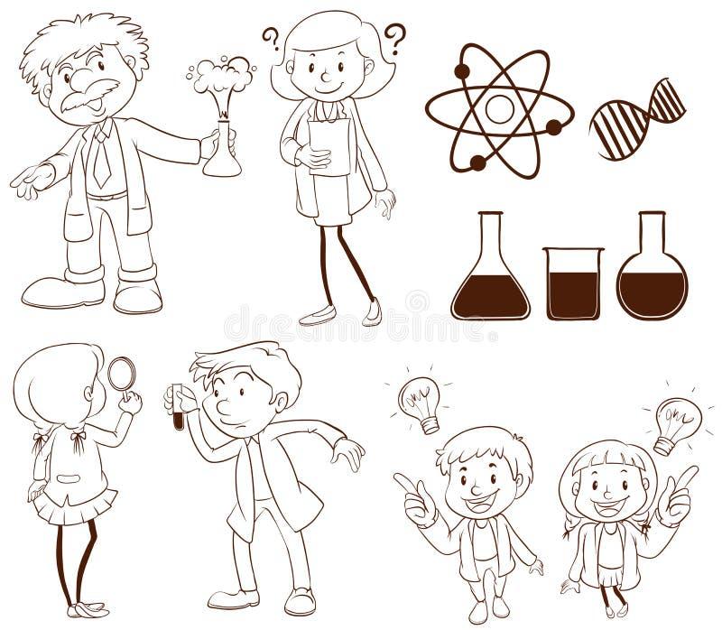 Download Science illustration de vecteur. Illustration du isolement - 45366116