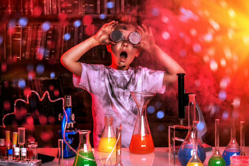 science photographie stock