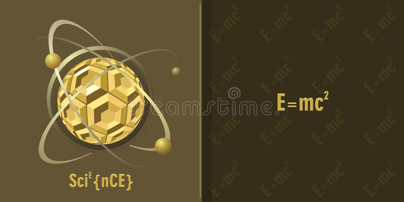 Science background royalty free illustration