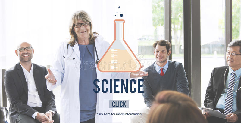 Science Biology Chemistry Education Physics Study Concept royalty free stock photos