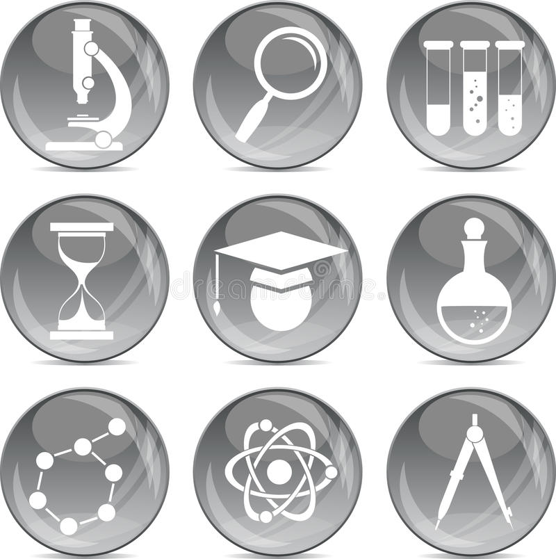 Download Science And Education Icons In Vector Royalty Free Stock Photos - Image: 23247268