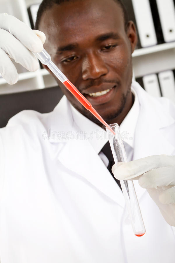 Science Experiment royalty free stock photography