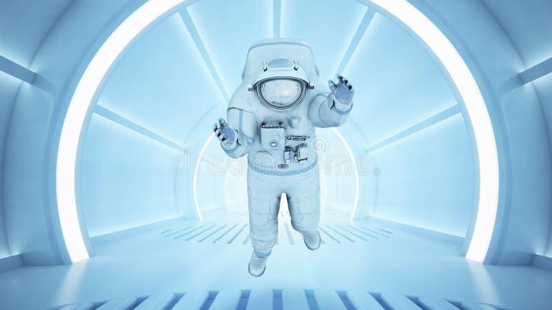Science fictionbinnenland royalty-vrije stock afbeeldingen