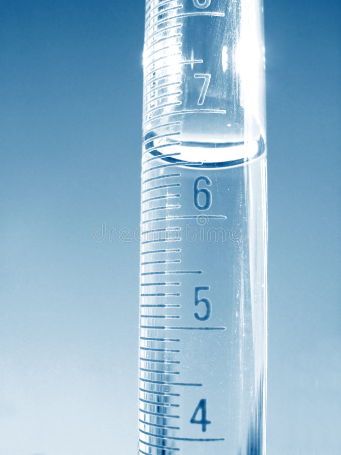 Free Science - Graduated Cylinder 3 Royalty Free Stock Photos - 89438