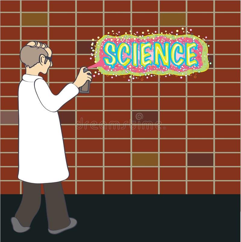 Science graffiti