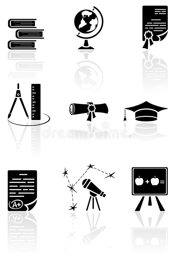 Download Science Icons Royalty Free Stock Photo - Image: 26459715