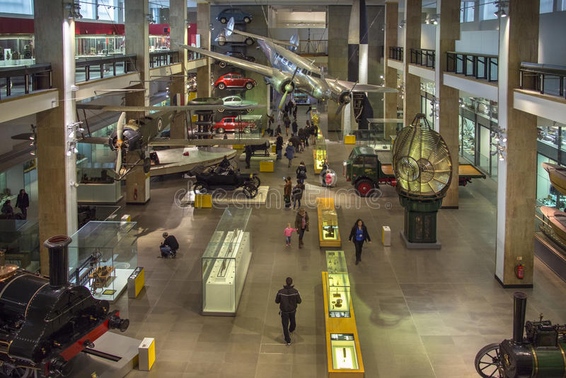 Science Museum - London - England royalty free stock photo
