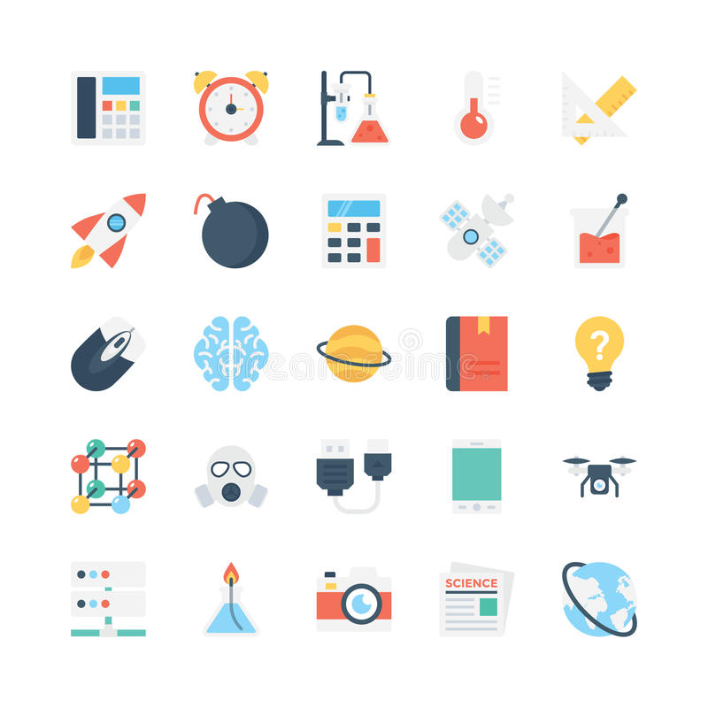 Science and Technology Vector Icons 3. Decorate your science projects, articles, publications, presentations, books, blog or web with this Science and Technology vector illustration