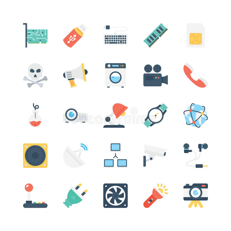 Science and Technology Vector Icons 6. Decorate your science projects, articles, publications, presentations, books, blog or web with this Science and Technology stock illustration