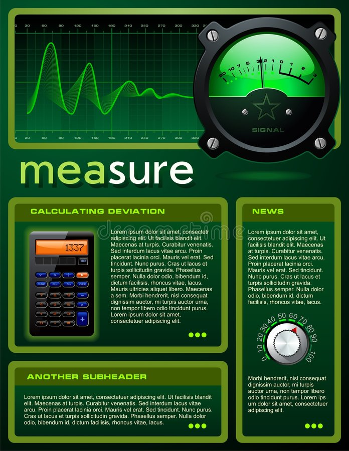 Download Science-themed Brochure Royalty Free Stock Image - Image: 6870336