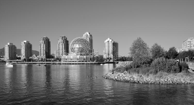 Science World. VANCOUVER BC CANADA JUNE 15 2015: Science World at Telus World of Science. It has many interactive science exhibits and displays, and popular stock photo