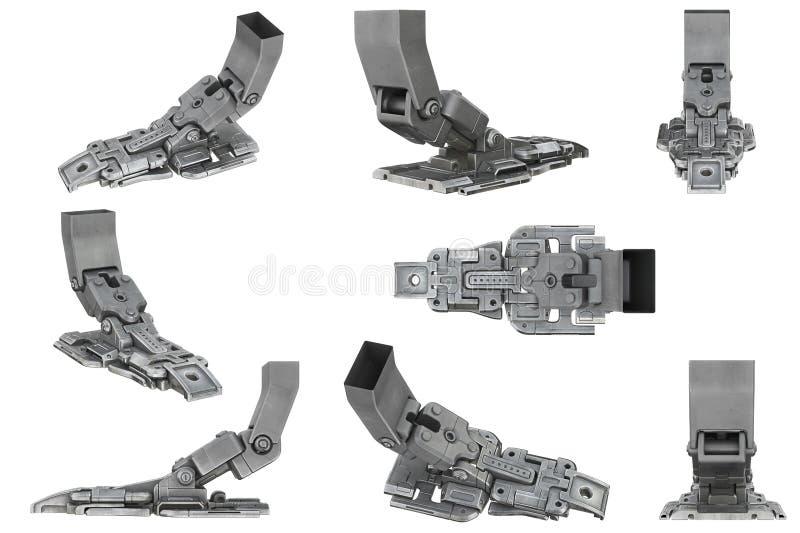 Sciencefictionsroboter-Beinsatz lizenzfreie abbildung