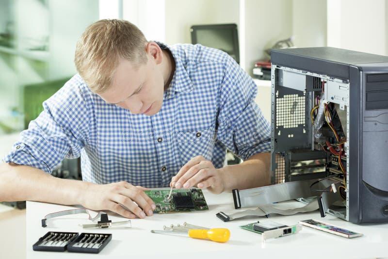 Sciene компьютера стоковые изображения rf