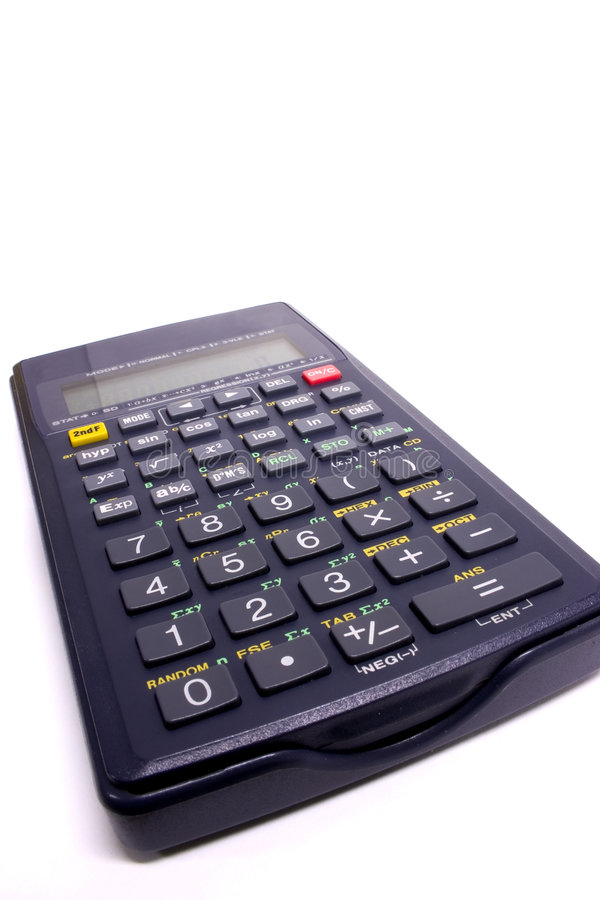 Download Scientific Calculator stock image. Image of numbers, office - 33479