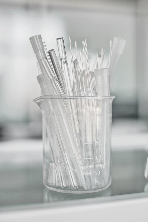Scientific laboratory equipment. Medical or scientific laboratory equipment stock image