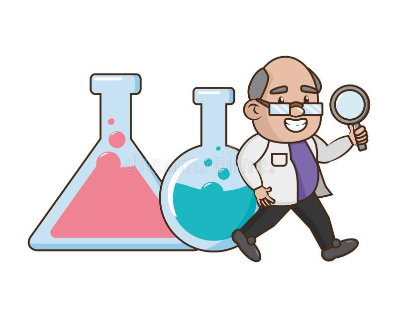 Scientific Laboratory Science Stock Vector Illustration Of