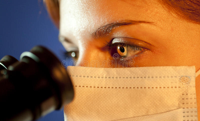 Download Scientific Looking In Microscope Stock Photos - Image: 20968363