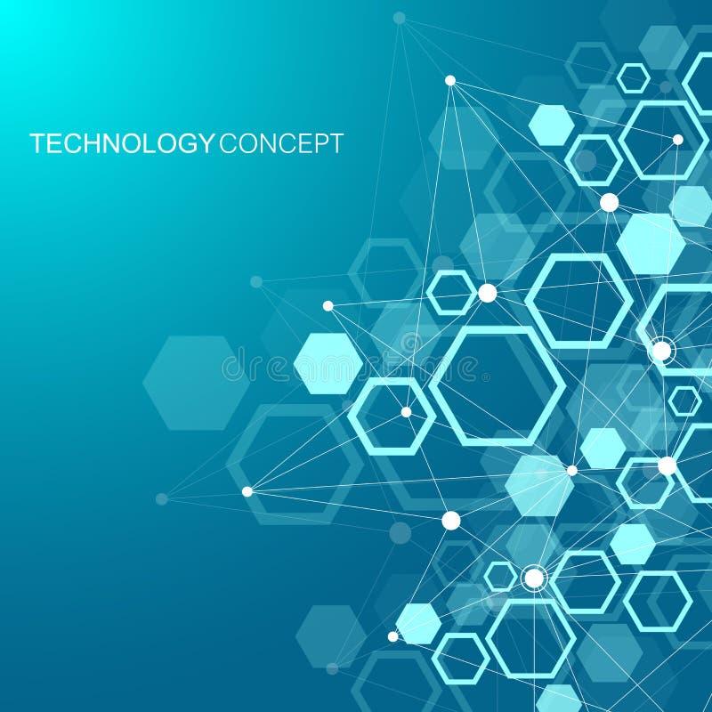 Dna Model Wallpaper: Scientific Molecule Background For Medicine, Science