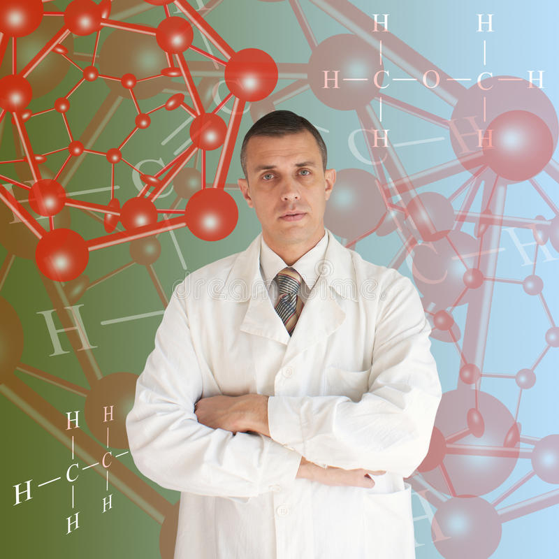 Scientific researches royalty free stock photos