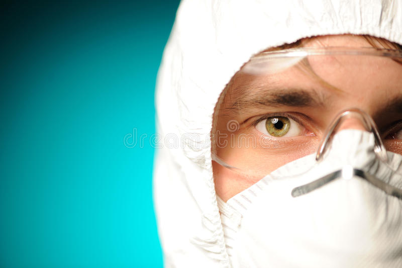 Scientist stock image