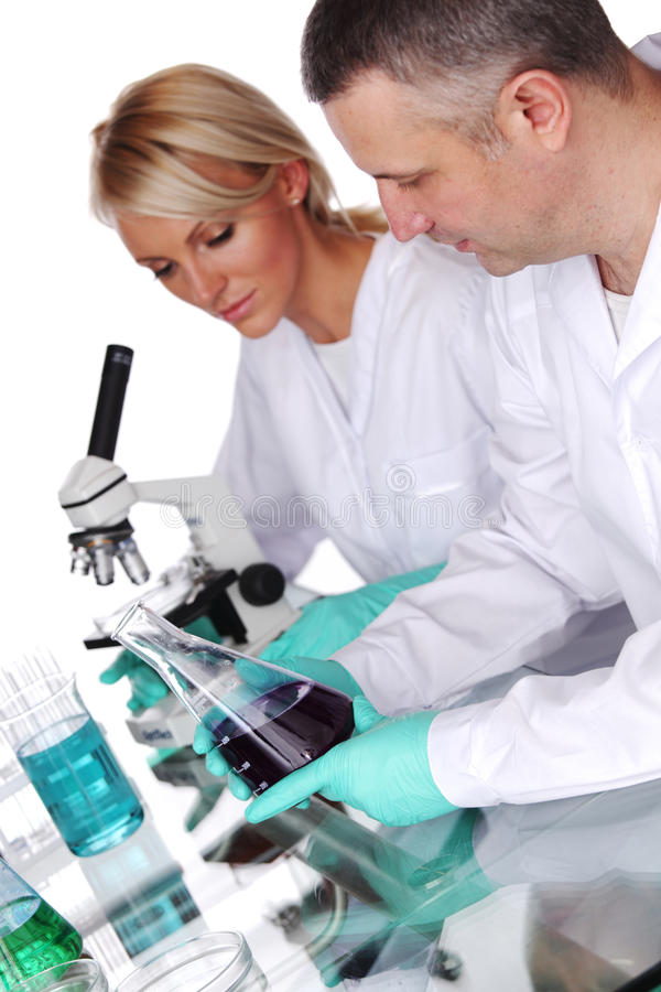 Download Scientist in chemical lab stock image. Image of biochemistry - 22650123