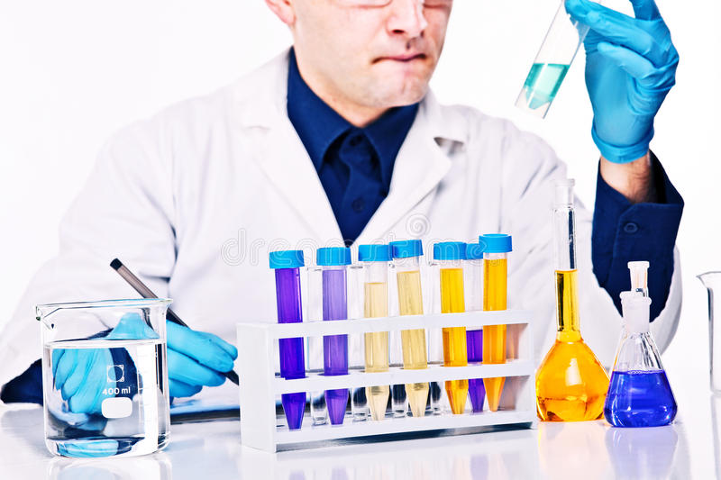 Download Scientist at work stock image. Image of caucasian, doctor - 29298805