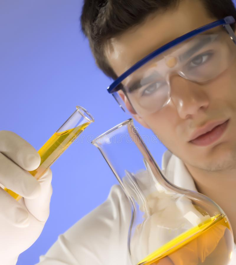 Download Scientist Working In A Laboratory Stock Image - Image: 6393731