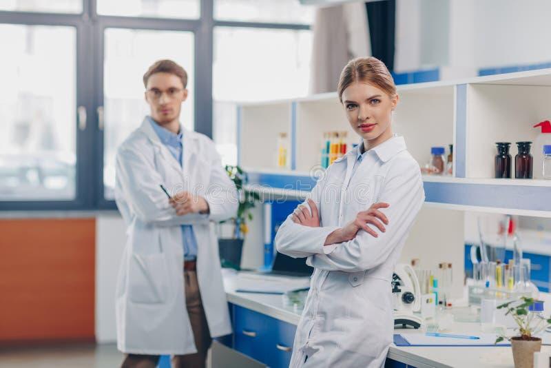 scientists стоковые фото