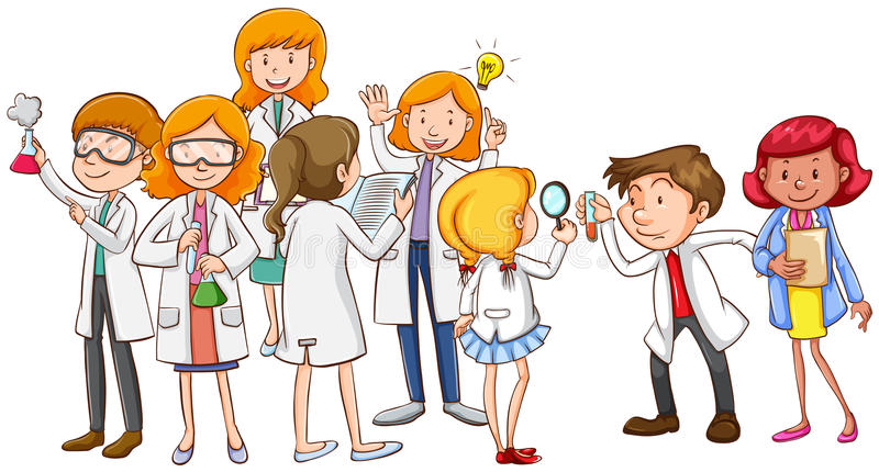 Image result for scientists clipart