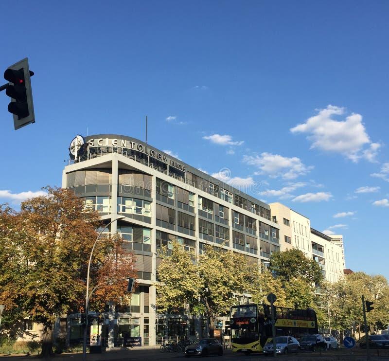 Scientology kwatery główne w Berlin, Niemcy zdjęcie stock