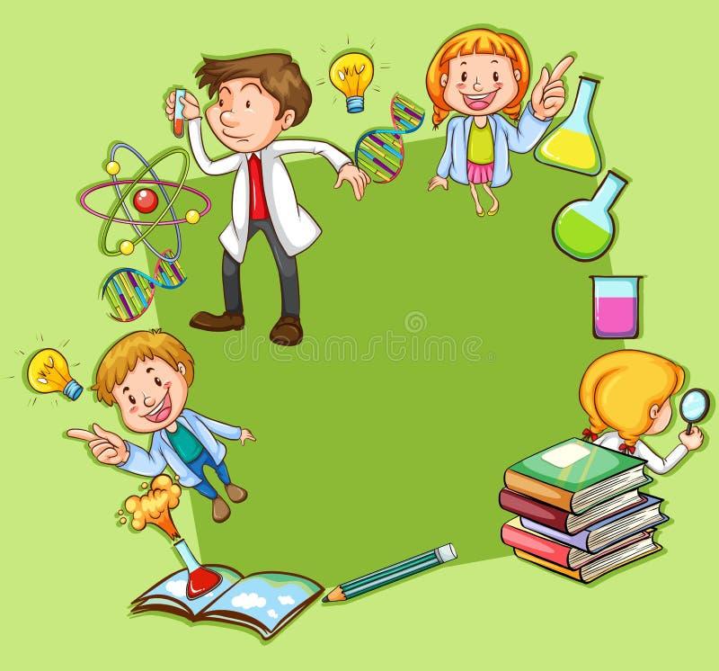 Download Scienza illustrazione vettoriale. Illustrazione di fumetto - 55365269