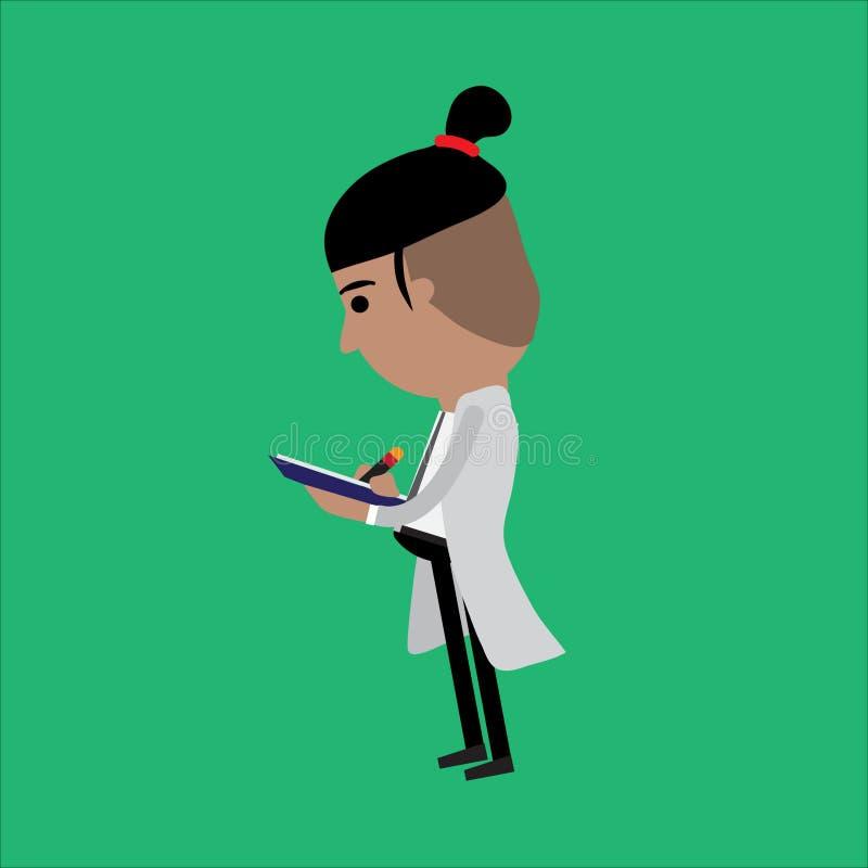scienziato royalty illustrazione gratis