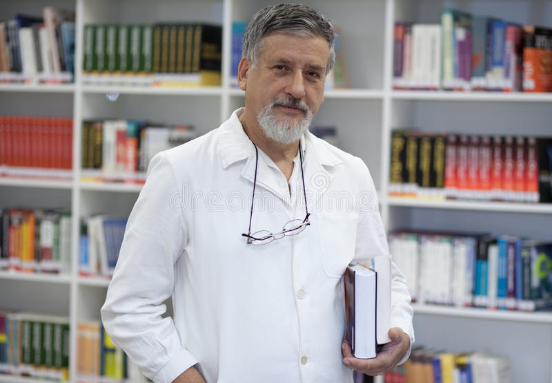 Scienziato rinomato/medico immagine stock