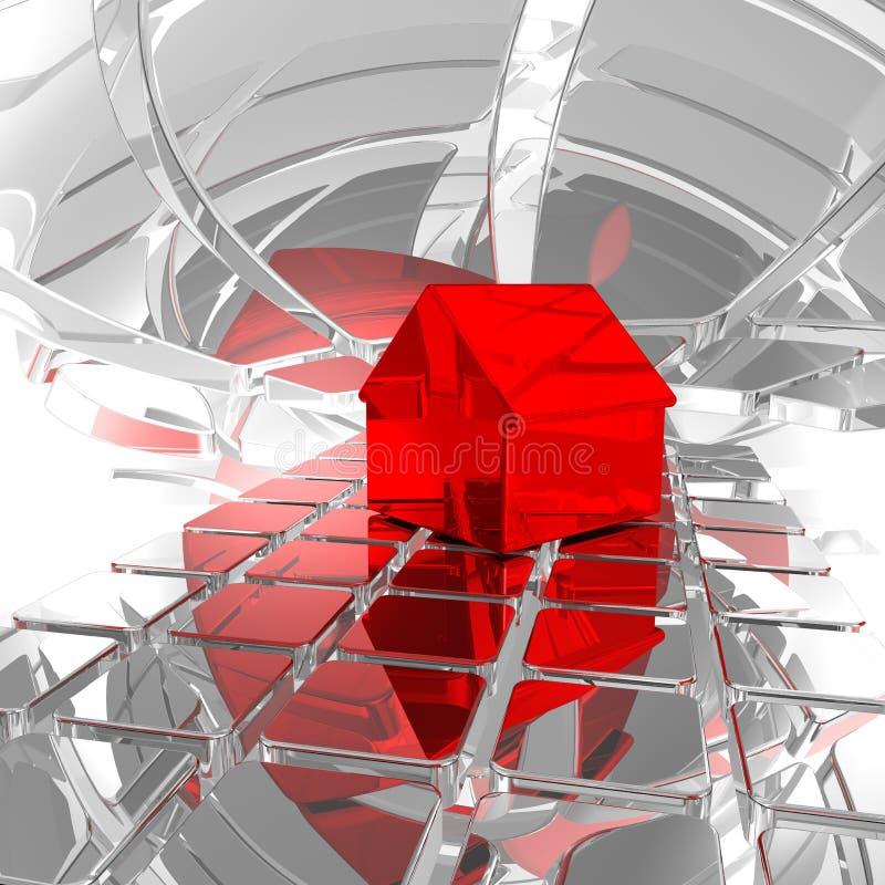 Download Scifi home stock illustration. Illustration of reflection - 17460173