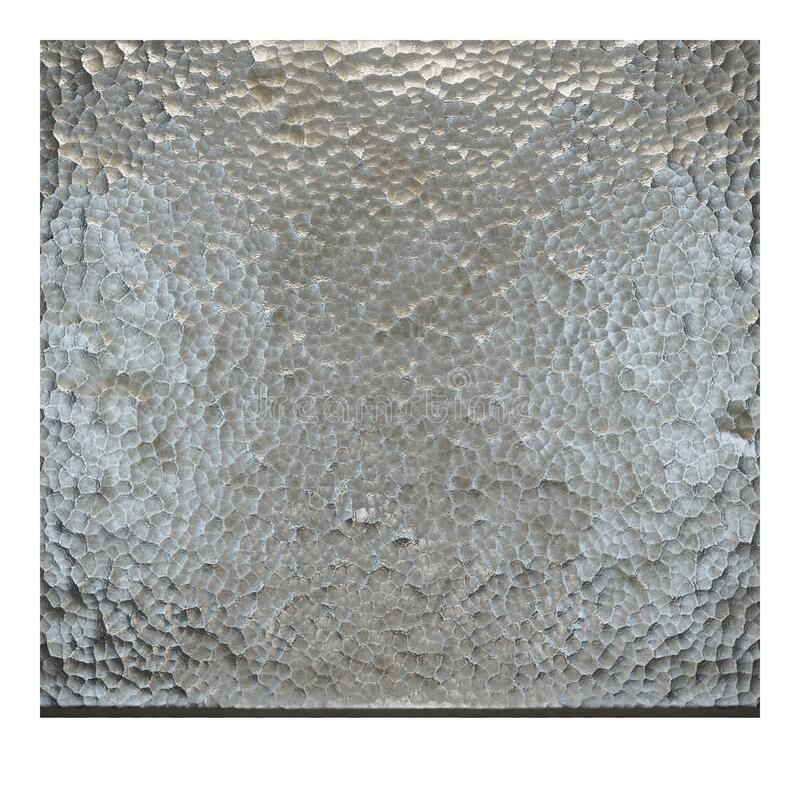 SciFi Panels. Futuristic texture. Spaceship hull geometric pattern. 3d illustration. royalty free stock photography