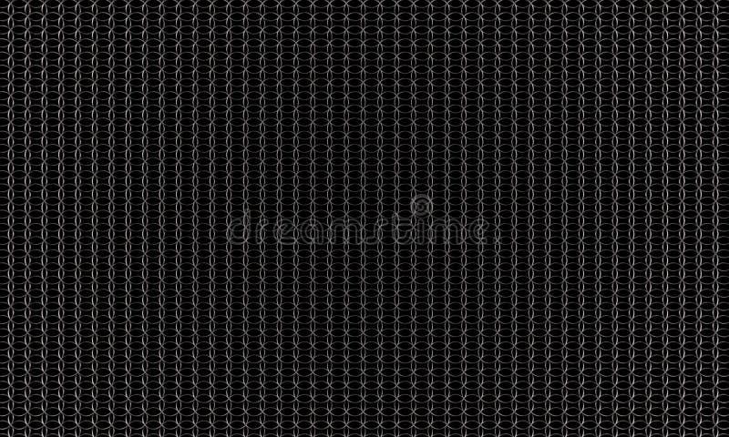 Scifipatroon, scifiachtergrond, scifiachtergrond het 3D teruggeven stock illustratie