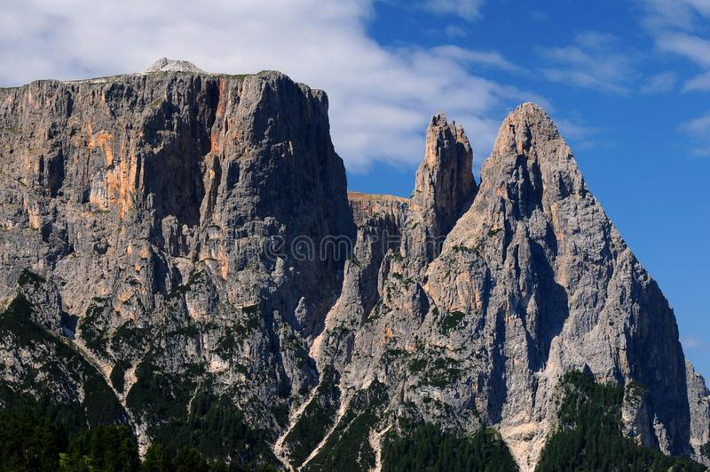 Download Sciliar From Seiser Alm Alpe Di Siusi, Dolomites, Trentino-Alto Adige Stock Image - Image of massif, clouds: 83716413