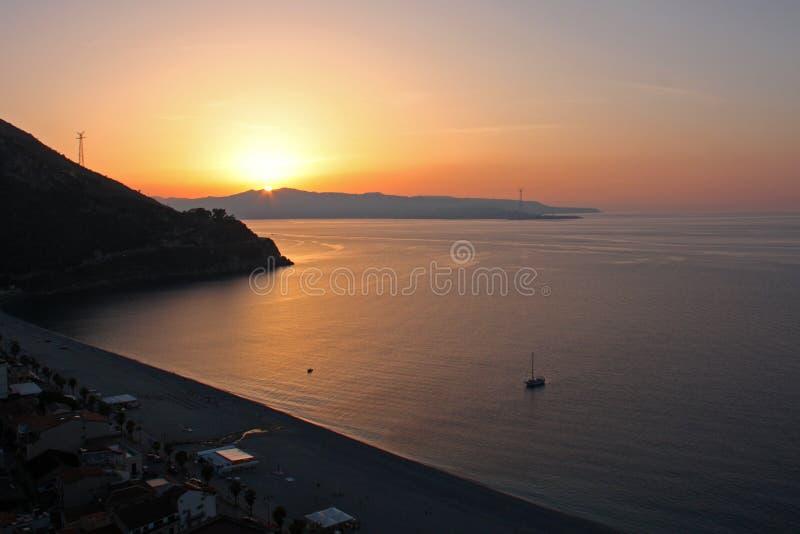 Scilla, Calabrië, Italië stock afbeeldingen