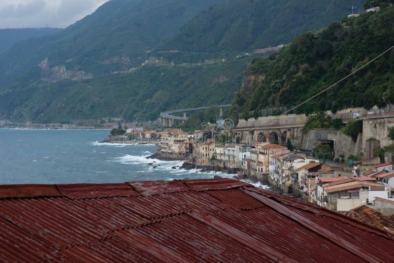 Scilla in Calabria royalty free stock photos