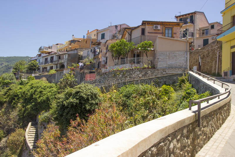 Scilla Calabria, Italien, Europa royaltyfria bilder