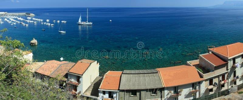 Scilla coast royalty free stock photography