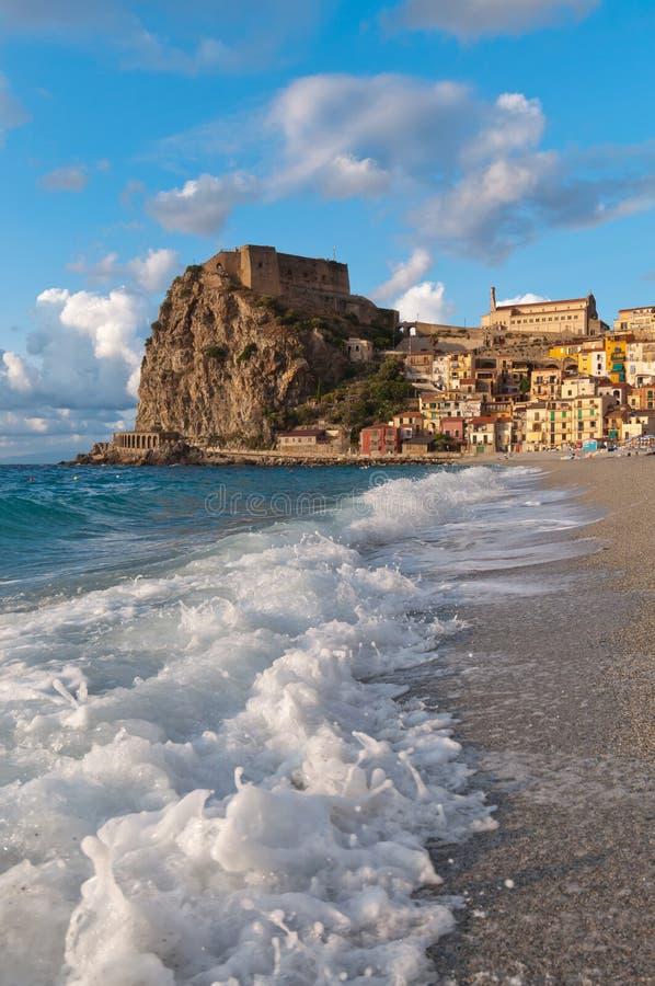 Scilla Italy Calabria stockfoto