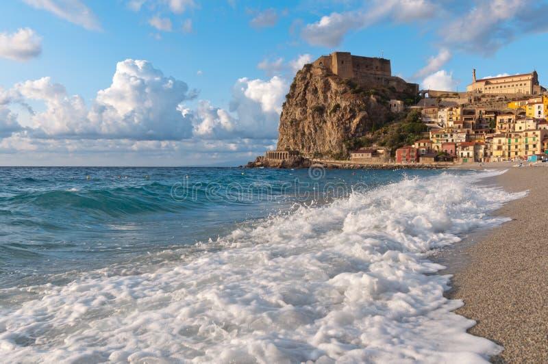Scilla Italy Calabria stockfotografie