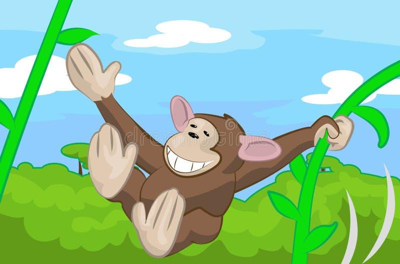 Scimmia illustrazione di stock