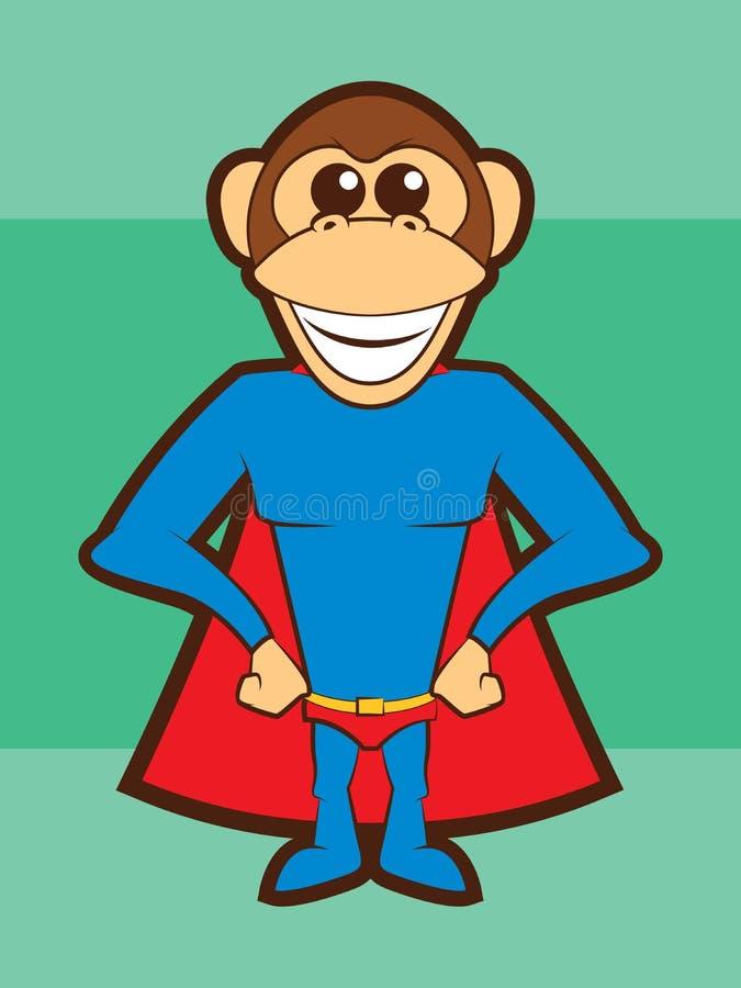 Scimmia eccellente royalty illustrazione gratis