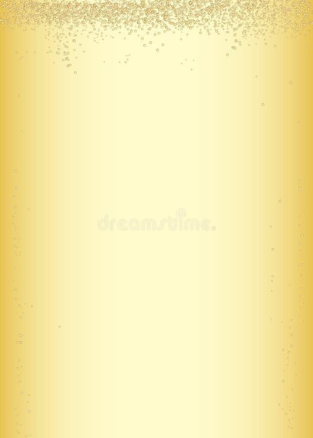 Scintillare Champagne Event Celebration Background Illustration illustrazione vettoriale