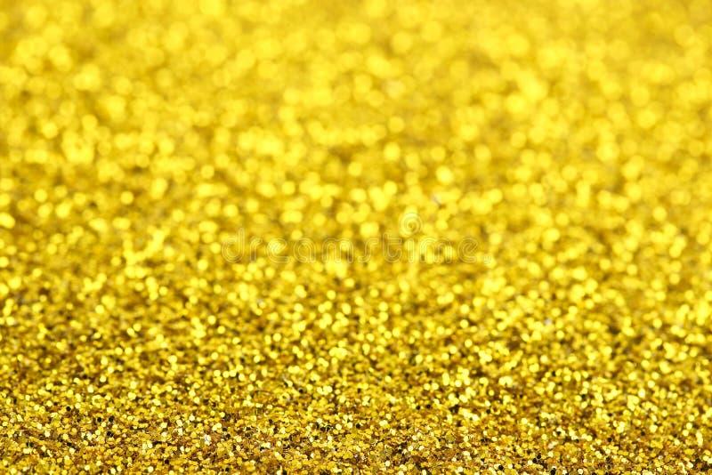Scintillement d'or images libres de droits
