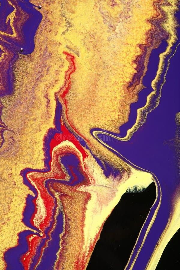 scintillement de couleurs ondulé photo libre de droits