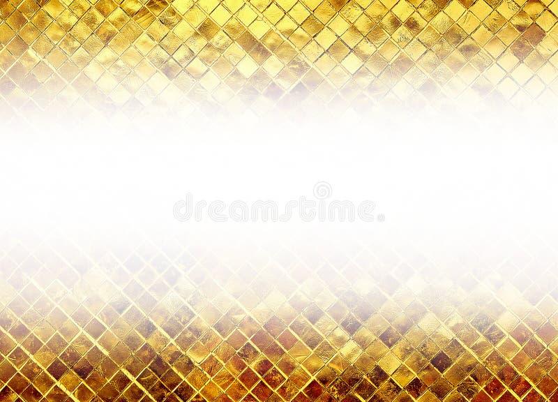 Scintillement de texture d'or photo libre de droits
