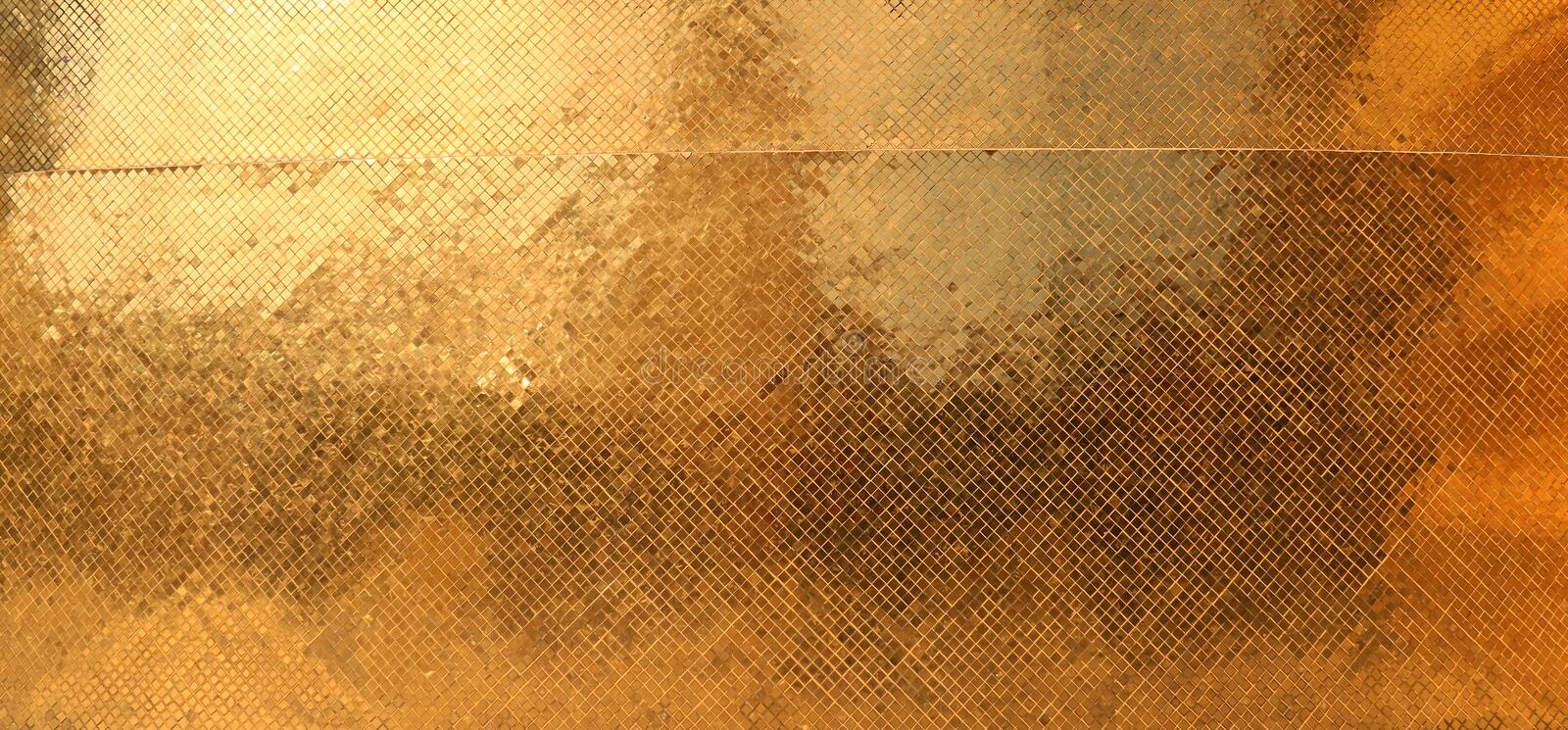 Scintillement de texture d'or image stock
